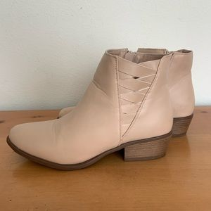 Journee Collection Faux Leather Ankle Boots